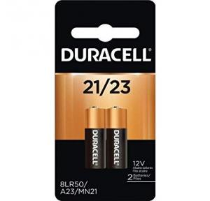 Duracell 12 V Alkaline Alarm Remote Battery, A23