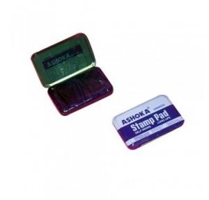 Ashoka Small Stamp Pad (Blue), 5.2x9.5 cm
