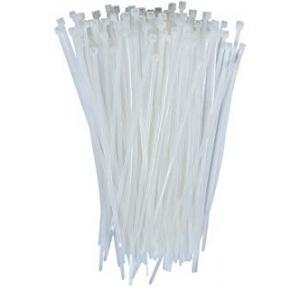 Stronger Nylon Cable Ties White, 150 mm (Pack of 100 Pcs)