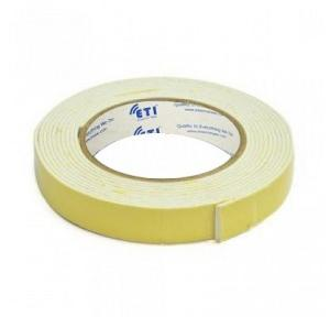 Double Sided Foam Tape, 1/2 Inch x 10 mtr