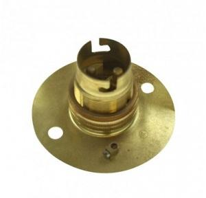 Brass Bulb Holder B-22 Base