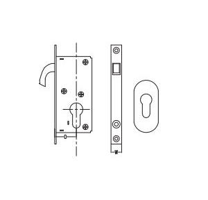 Dorma Hook Lock For Sliding Door 15x30 mm, XL-C 2014