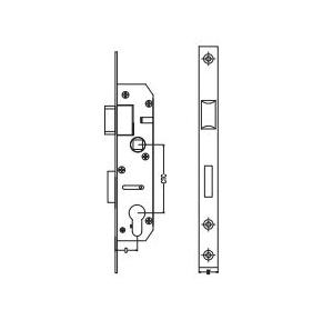 Dorma Narrow Stile Sash Lock 20x25 mm, XL-C 2013