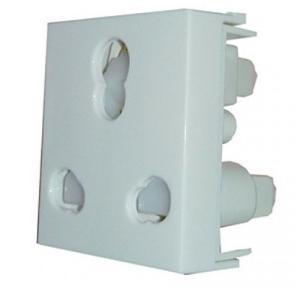 ABB 6/16A 2 Module Socket, CHSK1662