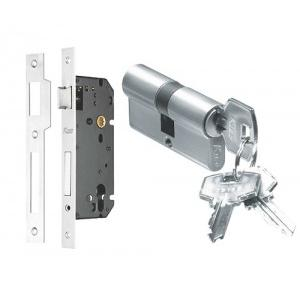 Kich SS Mortice Lock Body 9 Inch (MLB92S) With Pin Cylinder (Both Side Key) 90mm (PCBSKS60)