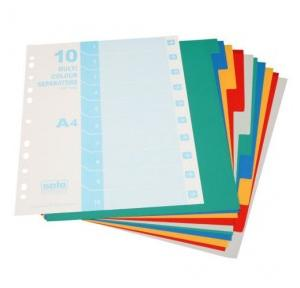 Solo SP310 Separator/Divider Multi Colour, Size: A4 (Pack of 10 Pcs)