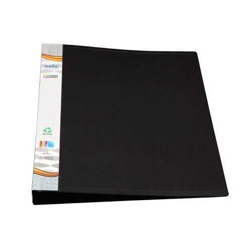 Solo RB406 Student's Ring Binder, 17 mm, Size: A4