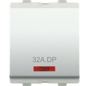 Alemac Axor 32A 2M DP Switch (White), 817B