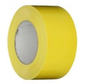 Floor Marking Tape Yellow, 3 Inch x 25 mtr