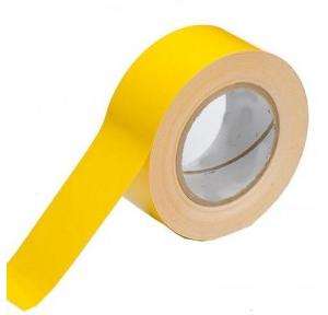 Floor Marking Tape Yellow, 1 Inch x 25 mtr