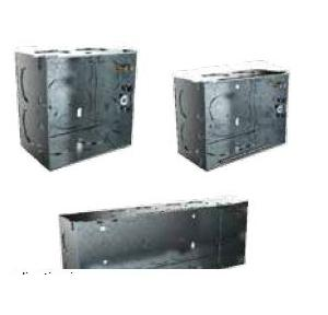 Schneider 1&2M Surface Metal Box, Thickness: 1mm, MR1102