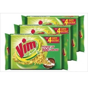 Vim Dishwash Bar 200 gm (Pack of 3)