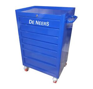 De Neers Trolley With 7 Drawer, 1070x675x500 mm