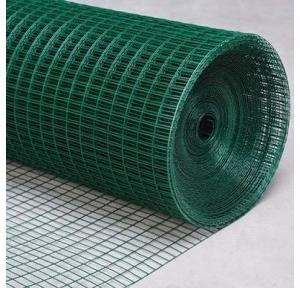 PVC Coated Wire Mesh Green, Size: 4ft x 10ft