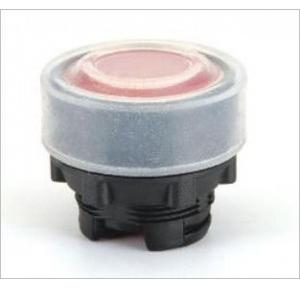 Teknic White Momentary Actuator Booted Push Button, P2AF1BT7