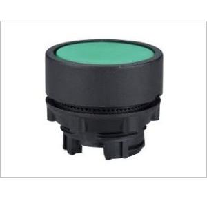 Teknic Black Momentary Actuator Flush Type, P2AF2