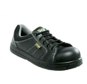 JCB New Athletic Double Density Steel Toe Black Safety Shoes, Size: 8