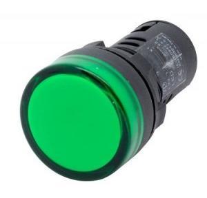 Panel Mount LED Indicator, 240V AC (Green)