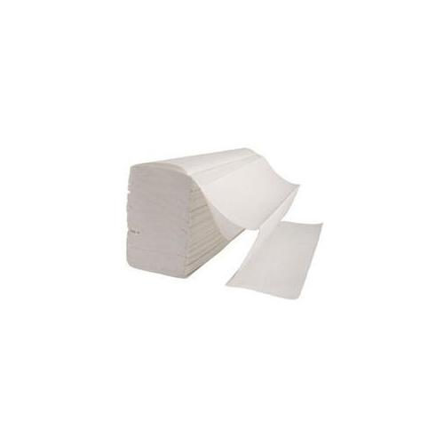Excel M-Fold Pure White Tissue Paper, 150 Pulls (Pack of 20 Pcs)