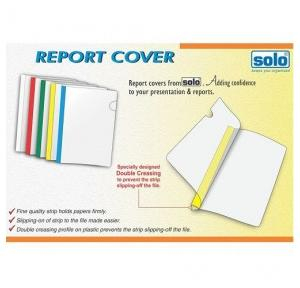 Solo RC001 Report Cover (Strip File), Size: A4