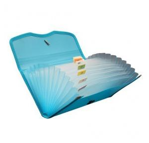 Solo EX701 Expanding Cheque Case (Elastic) - 12 Section, Size: Chq.