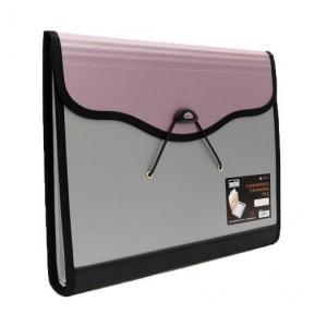 Solo EF884 Conference Expanding File - 6 Pockets (With Pen & Pad), Size: F/C