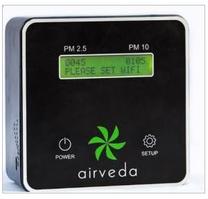 Airveda Air Quality Hand-Held Measurement, PM2510