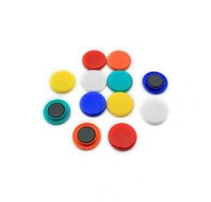 White Board Magnetic Button, Size: 16 mm (Pack of 10 Pcs)