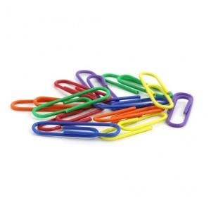 U Shaped Clips Colored, Size: 28 mm, (Pack of 50 Clips)
