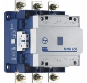 L&T 3 Pole Power Aux Contactor 650A Fr6 Type MNX 650, CS96327