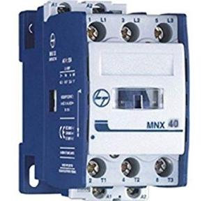 L&T 3 Pole Power Aux Contactor 40A Fr2 Type MNX 40, CS94190
