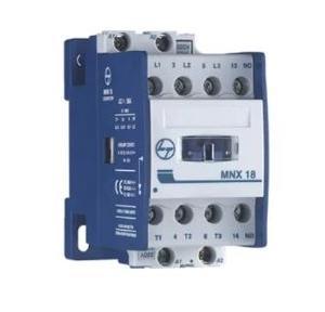 L&T 3P Power Aux Contactor 18A Fr1 Type MNX 18, CS84101