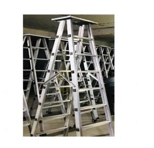 Aluminium Double Sided With Platform Ladder, 6 Ft