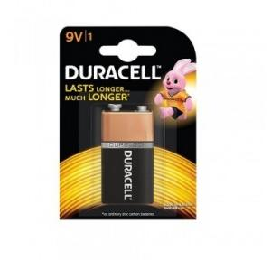 Duracell 9 Volt Battery (Pack of 2)