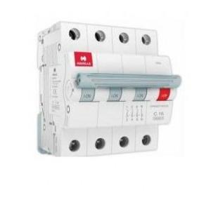 Havells 40A 3P+N C-Curve AC MCB, DHMGCTNF040