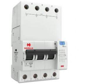 Havells 20A 3P+N 4M 300 mA A Type RCBO, DHCEACTN4300020