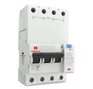 Havells 16A 3P+N 4M 300 mA A Type RCBO, DHCEACTN4300016