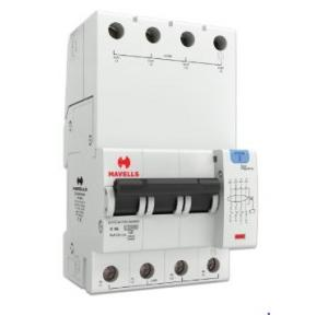 Havells 32A 3P+N 4M 100 mA A Type RCBO, DHCEACTN4100032