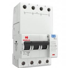 Havells 25A 3P+N 4M 100 mA A Type RCBO, DHCEACTN4100025