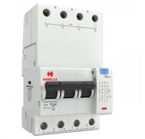 Havells 6A 3P+N 4M 100 mA A Type RCBO, DHCEACTN4100006