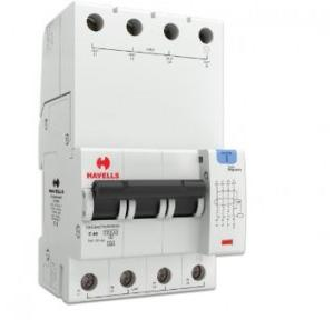 Havells 40A 3P+N 4M 30 mA A Type RCBO, DHCEACTN4030040
