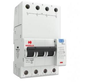 Havells 32A 3P+N 4M 30 mA A Type RCBO, DHCEACTN4030032