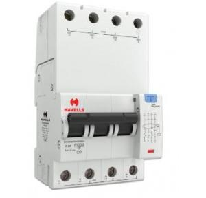 Havells 25A 3P+N 4M 30 mA A Type RCBO, DHCEACTN4030025
