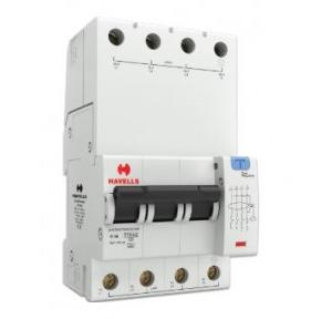 Havells 6A 3P+N 4M 30 mA A Type RCBO, DHCEACTN4030006