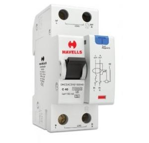 Havells 40A SPN-2M 100 mA A Type RCBO, DHCEACSN2100040