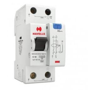 Havells 10A SPN-2M 100 mA A Type RCBO, DHCEACSN2100010