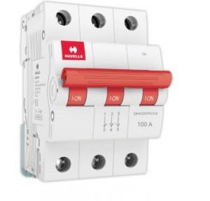 Havells 100A 3P Isolator, DHMGITPX100