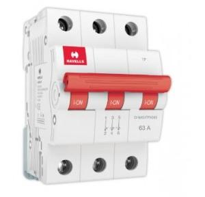 Havells 63A 3P Isolator, DHMGITPX063