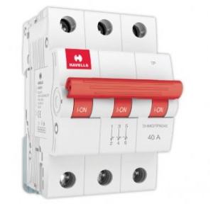 Havells 40A 3P Isolator, DHMGITPX040