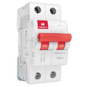 Havells 100A 2P Isolator, DHMGIDPX100